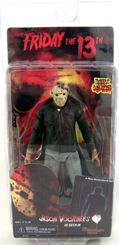 Friday the The Final Chapter All Horror Movies, Scary Movies, Jason Voorhees, Friday The 13th Toys, Crystal Lake Jason, Horror Action Figures, Toy Corner, Horror Drawing, Horror Monsters