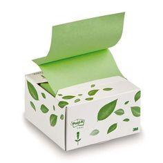 Ekologiczne karteczki samoprzylepne Post-It recykling