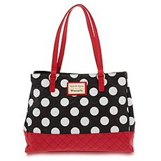 Disney Minnie Mouse Tote by Loungefly | Disney StoreMinnie Mouse Tote by Loungefly - Minnie goes uptown with a faux leather fashion tote that will 'toon-up your personal style. Cool pop art design with detailed construction and texturing makes Minnie's premium purse a mouse bag to remember.