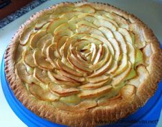 Crostata con crema pasticcera e mele http://www.profumodilievito.net/bimby-crostata-con-crema-pasticcera-e-mele/
