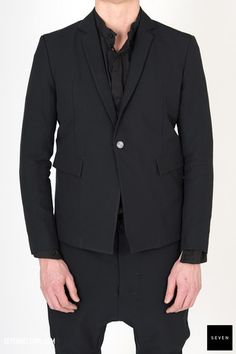 Boris Bidjan Saberi SUIT1-F1401L-C4 1,059 € | Seven Shop Fall Winter, Suit Jacket, Blazer, Jackets, Shopping, Fashion, Emperor, Outfits, Down Jackets
