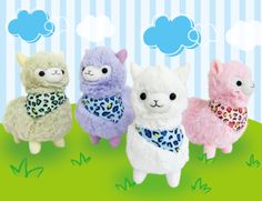 Llama Plush Llama Plush, Fluffy Coat, Candy Colors, Dinosaur Stuffed Animal, Fur, Toys, Animals, Amazon, Shop