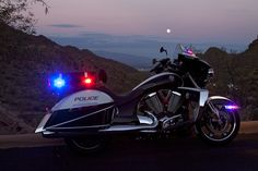 Victory Police Motorcycle