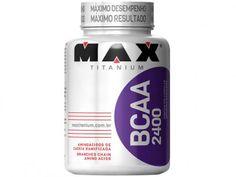 BCAA 2400- 200 Cápsulas - Max Titanium com as melhores condições você encontra…