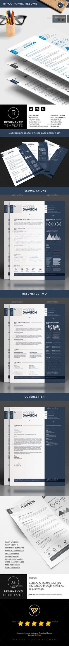 Resume Ai illustrator, Cv template and Resume cv - illustrator resume