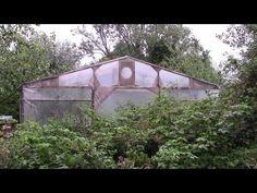 Aus alten Baugerüstteilen selbstgebautes Foliengewächshaus - YouTube