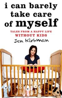 """it's very condescending to tell a childless woman she'd be ag reat mom"" by jen kirkman: sometimes i read rants by single non.parents and find them really immature.  however, this author, although she doesn't make me regret being a married father, brings up some interesting topics for discussion such as her conclusion that food dishes taste better when someone _else_ made them for you as well as her argument that two (like a couple) or even _one_ person ought to constitute a ""family."""