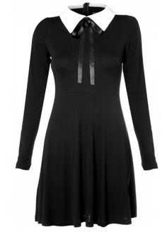 Disturbia Thursday Dress | Attitude Clothing #dress #black #goth
