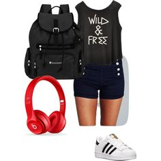 For the scarlet witch on Pintrest! by solstice-max on Polyvore featuring polyvore, fashion, style, Wet Seal, adidas and Sherpani @Visionswife