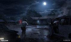 Kollide - Night Rescue, Scribble Pad Studios on ArtStation at https://www.artstation.com/artwork/YGzkP