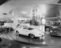 The Hoffman Auto Showroom at 430 Park Avenue, opened in 1955. It was one of just three Frank Lloyd Wright projects in New York City. And now, it's gone.