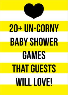 Un-Corny Baby Shower Games That Your Guests Will Love! Un-Corny Baby Shower Games That Your Guests Will Love! Baby Shower Games Coed, Baby Shower Games Unique, Cute Baby Shower Ideas, Baby Shower Bingo, Baby Games, Baby Shower Printables, Baby Shower Themes, Bany Shower Games, Diaper Shower