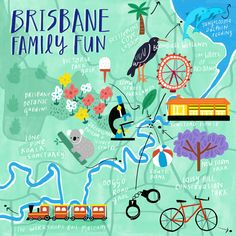 There's plenty of family fun to be had in Brisbane! Find out how to spend your next break with the kids #thisisqueensland