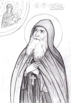Photo Byzantine Art, Byzantine Icons, Small Icons, Orthodox Icons, Icon Design, Art Drawings, Mosaic, Photo Wall, Sketches