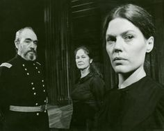 Donald Davis, Colleen Dewhurst and Pamela Payton-Wright in Mourning Becomes Electra , Colleen Dewhurst, Eugene Ionesco, Road To Avonlea, Eugene O'neill, Racehorse, Kindred Spirits, Anne Of Green Gables, Playwright, Dusk