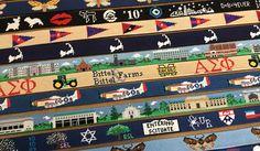 Custom, Hand-Stitched Needlepoint Belts