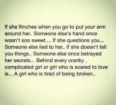 I dont do this anymore...but there was time when I did flinch...Never look back!