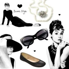 audrey hepburn fashion | Tags: Audrey Hepburn , Fashion , Icon , Little Black Dress
