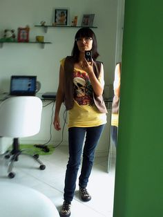 Rock by Karlinha's Wardrobe Mix, via Flickr