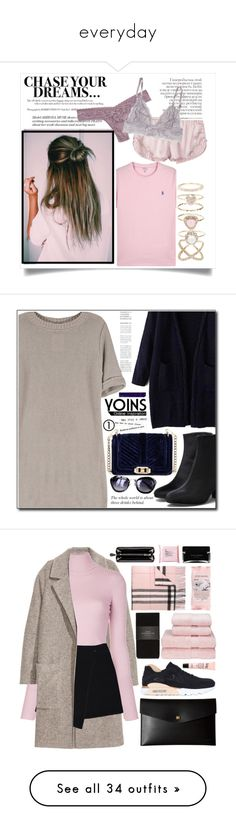 """""""everyday"""" by scheherazadee ❤ liked on Polyvore featuring Heidi Klum Intimates, Hanky Panky, Polo Ralph Lauren, Accessorize, Rebecca Minkoff, Burberry, NIKE, philosophy, Christy and A.L.C."""
