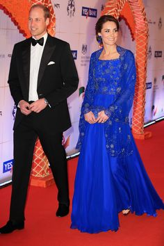 Kate Middleton Mixed British and Indian Fashion With This 1 Dress