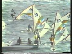 Windsurf - Mistral Promo - Gran Canaria - Funboard Generation 1984 - Part2 - YouTube