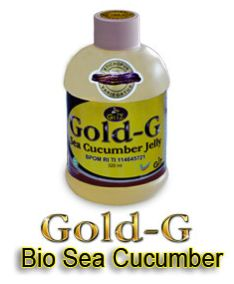Jelly Gamat Gold-G minuman kesehatan yang multi khasiat, yang terbuat dari bahan alami dan di olah secara modern melalui tangan para ahli gizi sehinggi terajaga ke higenisan nya.