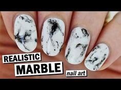 How To Create Realistic Marble Nails - Super Easy! | Nailed It NZ - YouTube