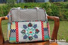 Quilted Weekend Bag Tips for bag completion |  Sew Lux Fabric : Blog: WSA2014 Weekender Sew Along - Sew Lux