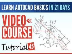 Interesting in learning AutoCAD Basics? Here is a series of AutoCAD basic tutorials to help you master the basics in 21 DAYS. Autocad Free, Learn Autocad, Autocad 2016, Free Cad Software, Electronics Projects For Beginners, Solidworks Tutorial, Arduino Board, Arduino Projects, Teaching