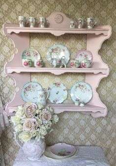 A personal favorite from my Etsy shop https://www.etsy.com/listing/248696526/shabby-cottage-chic-wall-curio