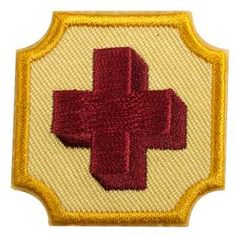 AMBASSADOR FIRST AID BADGE $1.50 #61608 Girl Scout badges, awards, and other insignia that are earned for the accomplishment of skill building activities or any set requirements should be presented, worn, or displayed only after Girl Scouts have completed the requirements outlined in the appropriate program materials.