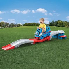 Kids Ride on Toys Thomas The Train Roller Coaster Children Toddler Boy Toy for sale online Toddler Roller Coaster, Roller Coaster Ride, Kids Ride On Toys, Kids Toys, Toddler Toys, Bobby Car, Gadgets, Mothers Day Crafts For Kids, Thomas The Tank