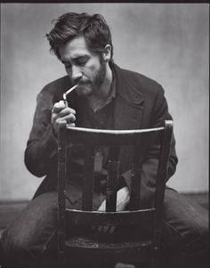 Jake Gyllenhaal, only he needs to ditch the smokes, he's hot enough without em