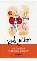 Red Guitar Old Vine Tempranillo - Garnacha, Navarra, Spain label Wine Searcher, Marketing Data, Fine Wine, Wines, Red Wine, Cellar, Label, Guitar, Red Wines