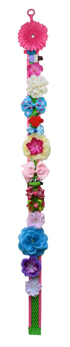 3 Foot Gerber Daisy Hair Bow Holder by FunnyGirlDesigns on Etsy