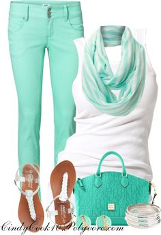 """MInty"" by cindycook10 on Polyvore"