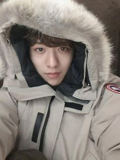 Jungshin shared us a cute self-cam with love :)  --- @CNBLUE_4: Everyone! The weather is getting colder .. Oh, please do not wear too thin to go out and make sure wear warmly! A few days ago, I got enteritis.. Because losing weights I felt very cold, so wore extra clothes (to cover) when going out ,hehe be careful with the food, be careful not to catch a cold, all things will be good ! I am very grateful to you all as always! Goodnight ~
