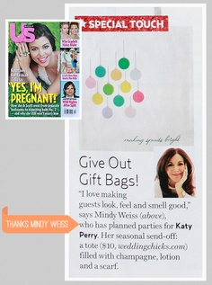 Us Weekly. Thanks to Mindy Weiss! (: