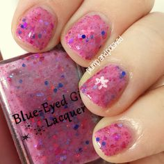 Blue-Eyed Girl Lacquer . Tacky Winter Sweater . Winter Collection #blueeyedgirllacquer #begl #beglove #swatch #indiepolish