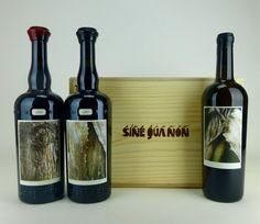 At last, the new Sine Qua Non Patine #Syrah and #Grenache. And the irresistible Resiste white #wine.