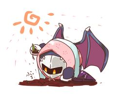 """""""What the!? Meta Knight what are you doing!? And why are you wearing that!?"""""""