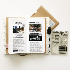 Travelers Notebook by mamaorrelli at @studio_calico