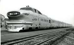 General Motors Aerotrain. GM built trains? Wow. Ironic, considering that they did everything they could to destroy the American rail system.