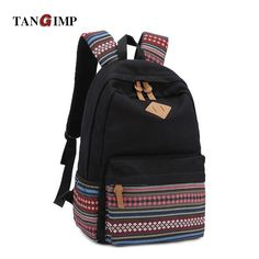 44.83$  Buy now - http://viutv.justgood.pw/vig/item.php?t=6rqdz1338386 - Female Women Ethnic Canvas Backpack Preppy Style School Lady Girl Student Travel 44.83$