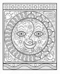 Amazon Fun Funky Coloring Book Treasury Designs To Energize And Inspire
