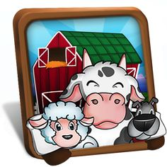Barnyard Mahjong HD is a mahjong solitaire game.