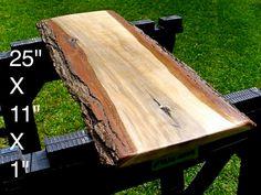Live Edge Sweet Gum Solid Hardwood Wood Slab by HurricaneMilling, $99.99