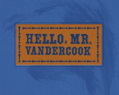 Vandercook by Keith Tatum Out Of My Mind, Mindfulness, Awareness Ribbons