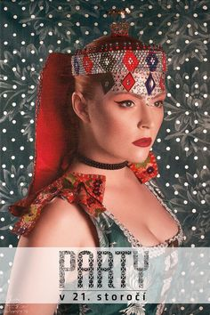 Parta is a type of a fancy headband, the symbol of adult unmarried girls. It was worn mainly by brides at their wedding ceremonies in the past and it was a part of a festive and ceremonial hair styling.